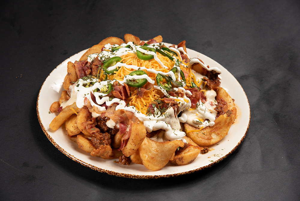 Loaded Tornado Fries